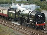 Britannia class locomotive