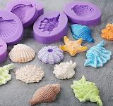 Beach decor molds