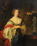 Portrait of a Lady by Gaspar Netscher