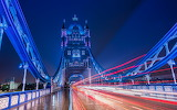 Tower Bridge at night. Deborah Sandidge Photo