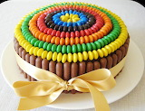 Chocolate Rainbow Dessert