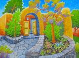 ^ Talpa Courtyard ~ Robert Yackel