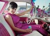 Hot pink rat rod dream girl