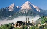 German Bavarian Alps