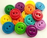 Rainbow Buttons @ Pinterest...