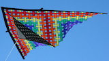 ^ Colorful kite