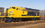 Train Locomotive Santa Fe Yellowbonnet 271C