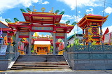 Jui Tui Shrine, Phuket, Thailand