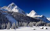 Snow mountains