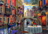 Romantic Supper in Venice