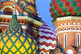 colorful cathedral domes