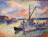 Boats by David Burliuk