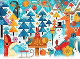 winter illustration, Philip Giordano