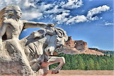 Crazy Horse Memorial-by Arnaud Perret