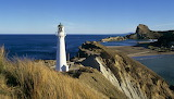 Castle Rock Lighthouse New Zealand