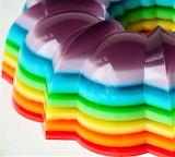 #Rainbow Jello Mold