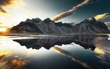 Mountains Lake Reflection