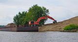Mississippi River Levee Building