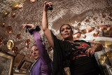 Flamenco dancing in caves of Sacromonte Spain
