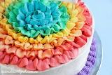 Rainbow Icecream Cake...