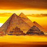 Golden Pyramids of Egypt...