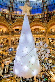 Christmas Tree Galeries Lafayette Department Store