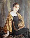 Clémentine Hélène Dufau,  Portrait de Jeanne Lanvin, 1925