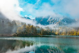 Italy Forest Mist Mountains