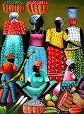 Caribbean Life painting