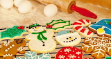 #Decorated Christmas Sugar and Gingerbread Cookies