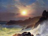 Coast Scene by Frederic Edwin Church 1863