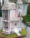 Modified Eclectic Mouse House by Kristie Dubord
