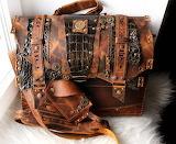 Steampunk Bag Leatherwork