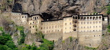 Sumela Monastery, south of Trabzon in Eastern Turkey, 386 AD