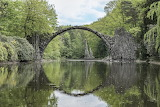 Devil's Bridge, Kromlau , Germany