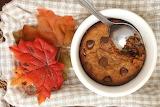 ^ Single Serve Pumpkin Chocolate Chip Cookie