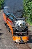 Southern Pacific Railroad #4449 Near Boneville, Washington