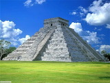 Piramide di Chichen Itza-Messico
