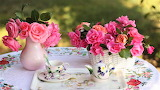 #Romantic Tea Setting