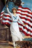 Vintage-Patriotic-4th-of-July-Postcard-lady-flag