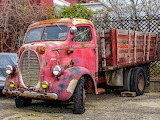 Ford truck circa 1940. Seen better days.