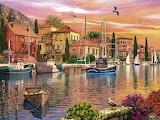 Dominic Davison, Mediterranean Harbour @ ravensburger.com...