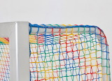 Colorful goal net