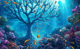 Ocean tree by kiarya-d8n2dco