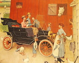 Model T Ford by Norman Rockwell