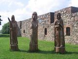 Ruiny Zamku Krzyżackiego w Szczytnie- foto - Tomasz Gida