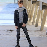 Boy in the boots