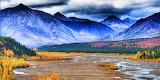 Teklanika River, Denali National Park, Alaska