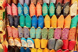 Moroccan handmade leather slippers