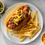 ^ Chipotle Chili Dogs